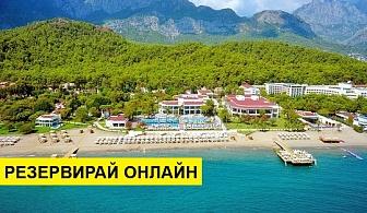 Самолетна почивка в Турция! 7 нощувки на човек на база Ultra all inclusive в Sherwood Exclusive Kemer 5*, Кемер, Турска ривиера с двупосочен чартърен полет от София