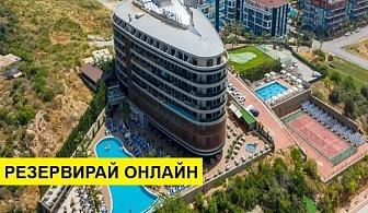 Самолетна почивка в Турция! 14 нощувки на човек на база Ultra all inclusive в Michell Hotel & Spa 5*, Анталия, Турска ривиера с двупосочен чартърен полет от София