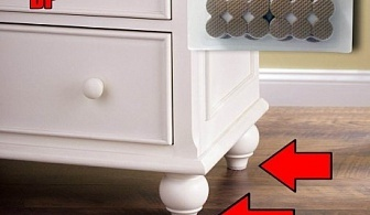 52 бр. самозалепващи се подложки за мебели