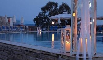 Със закуска, вечеря, отопляем басейн и Водни пързалки за Една нощувка в хотел  Aristoteles Holiday Resort и Spa - Атон / 01.07.2017 - 05.08.2017