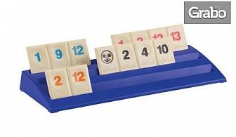 """Семейна логическа и образователна игра """"Руммикуб: Безкрайност"""""""