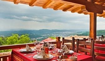 22-ри септември в арбанаси - хотел севастократор! 2 или 3 дневни пакети на човек за празника + закуски и вечери на топ цени + ползване на открит басейн!