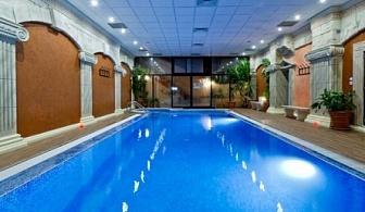 22-ри Септември в Спа хотел Свети Никола Сандански! 3 или 4 нощувки със закуски, безплатен салатен бар на вечеря, минерален басейн и джакузи на цени от 111лв. на човек!