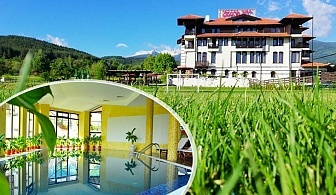 Септемврийски празници в хотел Орбел, Добринище! 2 или 3 нощувки  на човек със закуски и вечери, едната с DJ парти + басейн и релакс зона с минерална вода