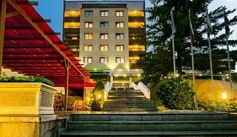 Септемврийски празници в СПА хотел Девин****. Две нощувки, закуски и вечери, едната празнична + басейн за 130 лв.