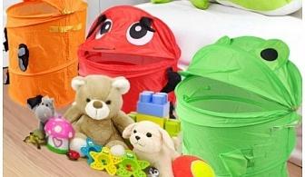 Сгъваем кош за играчки