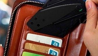 Сгъваем нож - кредитна карта