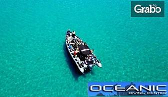 Шнорхелинг от лодка в кристалните води на Халкидики