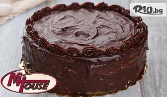 Шоколадова или Плодова мъфинова торта - 2.400 кг, от Muffin House