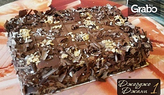 Шоколадова торта от палачинки