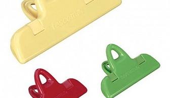 3 бр. щипки за затваряне на пакети Tescoma от серия Presto