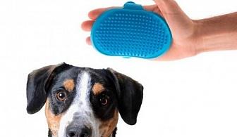 Силиконова четка за домашни любимци PET PRIOR