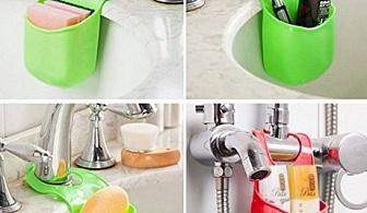 Силиконова поставка за кухня или баня
