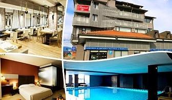 На СКИ в Банско! Нощувка със закуска + закрит басейн и релакс пакет в хотел Ривърсайд****