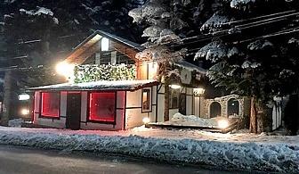 На СКИ в Боровец. Нощувка за до шестима в самостоятелна Къща за гости Алпина, на 100м от лифта.