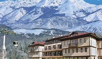 На ски в хотел Хермес, Банско! Нощувка със закуска+ джакузи и сауна + трансфер до лифта само за 33 лв.