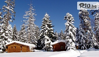 Ски почивка в Боровец! Нощувка в къщичка за до 4-ма души със или без сауна, от Вилно селище Ягода