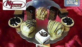 Сладък импулс! 50 или 100 броя сладки петифури микс в ШЕСТ различни вкусови стила от Muffin House