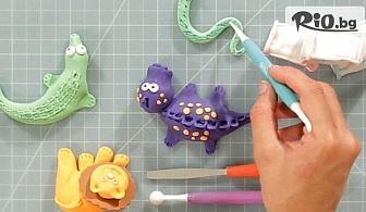 Сладкарски инструменти за декорация на торти, сладкиши и моделиране на фондан, от Svito Shop