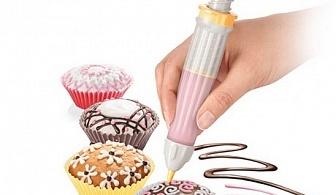 Сладкарски молив с 5 приставки Tescoma от серия Delicia