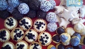 """Сладки на килограм! """"Бутикови сладки фантазии"""", един или два килограма от майстор-сладкарите на Muffin House!"""