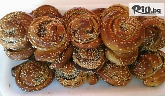 "Сладки ""Охлювчета"", Понички или Парти пицети, от Пекарна Taste It"