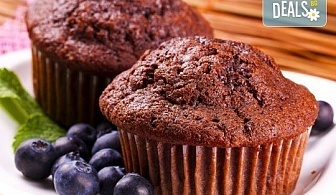 Сладко изкушение от Muffin House! 50 или 100 мини мъфина - микс от видове с превъзходен вкус