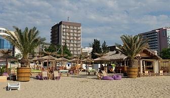 В Слънчев бряг на Ултра Ол Инклузив в хотел Орел за една нощувка с безплатни чадър и шезлонги на плажа и басейна / 10.05.2019 - 07.06.2019