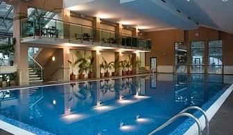 СПА почивка с МИНЕРАЛЕН вътрешен и външен басейн във Велинград. Нощувка със закуска ДВАМА или ЧЕТИРИМА във апартамент от хотел Велина****