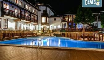 Спа почивка през лятото в семеен хотел Алфаризорт 3*, с. Чифлик! 3, 5 или 7 нощувки със закуски и вечери, ползване на открит минерален басейн, безплатно за деца до 7г.!