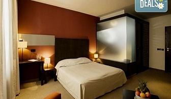 СПА почивка в Ривърсайд Бутик хотел 4* в Банско! Нощувка със закуска или закуска и вечеря, ползване на топъл басейн, парна баня, сауна, леден басейн и релакс зона, безплатно за дете до 5.99г.