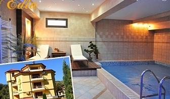 СПА почивка в Сандански. Нощувка, закуска, вечеря + парна баня и хидромасажно джакузи в семеен хотел Едиа.