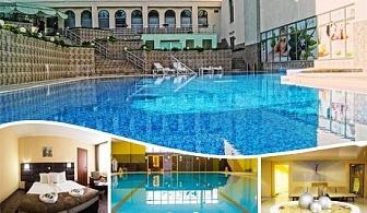 СПА почивка във Велинград! 2 МИНЕРАЛНИ басейна, нощувка, закуска, обяд и вечеря + Fish СПА в Хотел Здравец Уелнес и СПА****