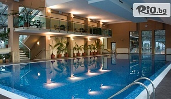 СПА почивка във Велинград! Нощувка със закуска за ДВАМА + СПА пакет, вътрешен и външен минерален басейн, от Хотел Велина 4*