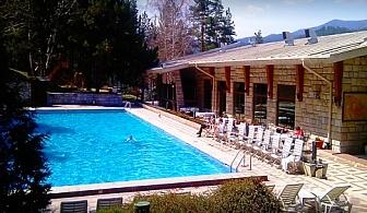 СПА и релакс във Велинград! Нощувка със закуска за ДВАМА + минерален басейн от хотел Велина****
