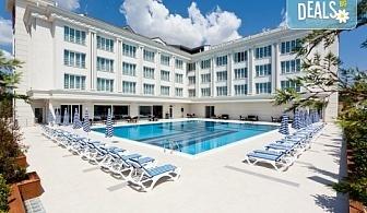 СПА уикенд в Кумбургаз, Турция, със Запрянов Травел! 2 нощувки със закуски и вечери, в хотел 4*, транспорт, ползване на сауна, турска баня, басейн!