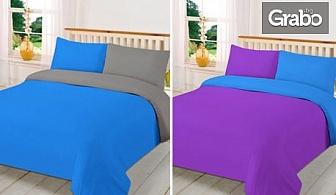 Спален комплект от микрофибър - размер и цвят по избор