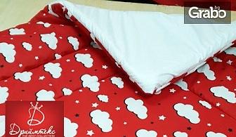 Спален комплект от ранфорс в размер по избор или двулицева зимна олекотена завивка