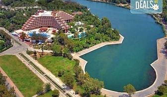 Специална цена за почивка през октомври в Сиде, Анталия! 7 нощувки Ultra All, Grand Prestige Hotel & Spa 5*, възможност за 2 вида транспорт!