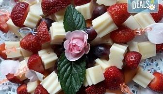 Специално предложение за Вашия повод! Вземете 120 броя коктейлни хапки с прошуто, ементал, грозде и пастърма от My Style Event!