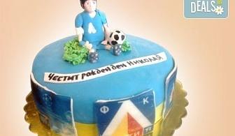 За спорта! Торти за футболни фенове, геймъри и почитатели на спорта от Сладкарница Джорджо Джани