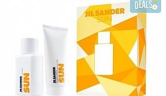 Стилен подарък! Вземете комплект Jil Sander Sun - тоалетна вода и лосион за тяло, с безплатна доставка за цялата страна!
