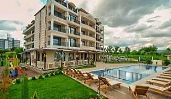 Супер нов хотел до плажа в Кранево след 08.08 All Inclusive с чадър и шезлонг на плажа от Съни Касъл