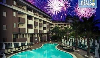 Супер оферта за Нова година в Primasol Hane Family 4*, Сиде! 4 нощувки на база All Inclusive, Новогодишна Гала вечеря, самолетен билет и трансфери!