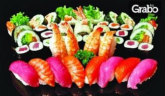 Суши сет с 30, 50 или 76 хапки