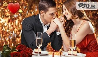 Свети Валентин в Пампорово! Нощувка със закуска и Празнична вечеря с романтична музика + СПА, от Хотел Елица