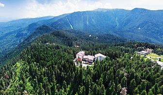 Свети Валентин в Паничище! 2 нощувки на човек със закуски и вечери + релакс зона в хотел Планински езера