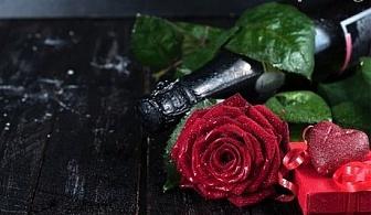 Свети Валентин в РЕНОВИРАНИЯ хотел Хермес, Банско! Нощувка, закуска и романтична вечеря + бутилка шампанско за ДВАМА и джакузи само за 85 лв.