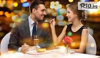 Свети Валентин в Русе! Нощувка със закуска и празнична вечеря, програма със специалното участие на Виво Монтана и DJ, от Хотел Теодора Палас 3*