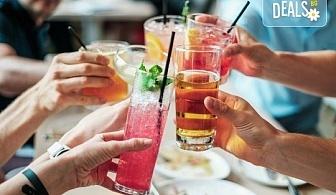 Свежо и изгодно! Вземете два разхлаждащи коктейла по избор от цялото меню на Royal Place Shisha Bar!
